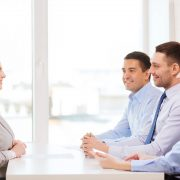 66405735 Syda Productions job interview female posture