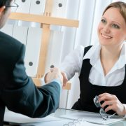 job interview woman smiling 1